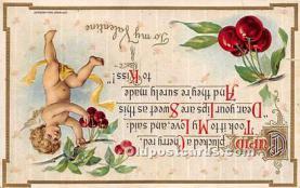val002122 - Valentines Day Post Cards Old Vintage Antique Postcards