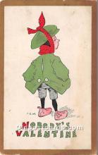 val002123 - Valentines Day Post Cards Old Vintage Antique Postcards