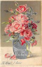val002124 - Valentines Day Post Cards Old Vintage Antique Postcards