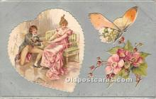 val002126 - Valentines Day Post Cards Old Vintage Antique Postcards