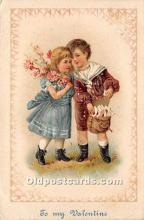 val002127 - Valentines Day Post Cards Old Vintage Antique Postcards
