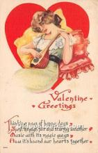 val002131 - Valentines Day Post Cards Old Vintage Antique Postcards