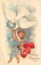 val002132 - Valentines Day Post Cards Old Vintage Antique Postcards