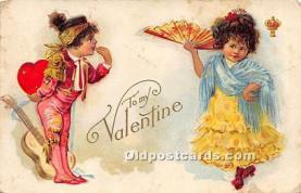 val002134 - Valentines Day Post Cards Old Vintage Antique Postcards