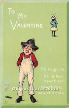 val002135 - Valentines Day Post Cards Old Vintage Antique Postcards