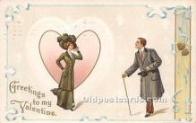 val002136 - Valentines Day Post Cards Old Vintage Antique Postcards