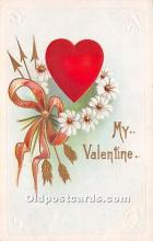 val002139 - Valentines Day Post Cards Old Vintage Antique Postcards