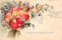 val002140 - Valentines Day Post Cards Old Vintage Antique Postcards
