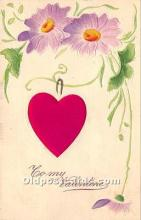 val002143 - Valentines Day Post Cards Old Vintage Antique Postcards