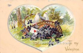 val002144 - Valentines Day Post Cards Old Vintage Antique Postcards