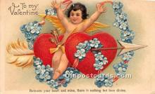 val002147 - Valentines Day Post Cards Old Vintage Antique Postcards