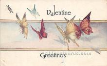 val002148 - Valentines Day Post Cards Old Vintage Antique Postcards