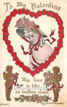 val002153 - Valentines Day Post Cards Old Vintage Antique Postcards