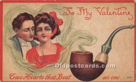 val002156 - Valentines Day Post Cards Old Vintage Antique Postcards