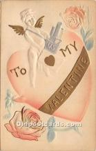 val002158 - Valentines Day Post Cards Old Vintage Antique Postcards