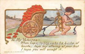 val002159 - Valentines Day Post Cards Old Vintage Antique Postcards