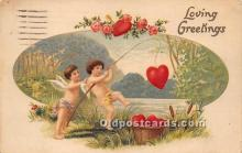 val002160 - Valentines Day Post Cards Old Vintage Antique Postcards