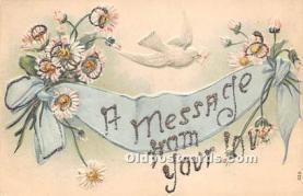 val002161 - Valentines Day Post Cards Old Vintage Antique Postcards