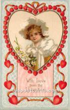 val002163 - Valentines Day Post Cards Old Vintage Antique Postcards