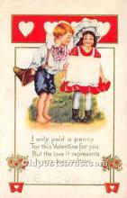 val002164 - Valentines Day Post Cards Old Vintage Antique Postcards