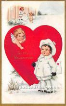 val002165 - Valentines Day Post Cards Old Vintage Antique Postcards