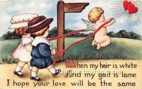val002169 - Valentines Day Post Cards Old Vintage Antique Postcards