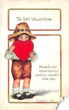 val002171 - Valentines Day Post Cards Old Vintage Antique Postcards