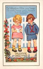 val002172 - Valentines Day Post Cards Old Vintage Antique Postcards