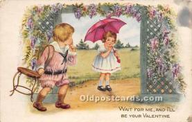 val002175 - Valentines Day Post Cards Old Vintage Antique Postcards