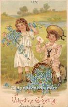 val002177 - Valentines Day Post Cards Old Vintage Antique Postcards
