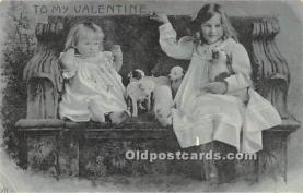 val002183 - Valentines Day Post Cards Old Vintage Antique Postcards