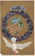 val002184 - Valentines Day Post Cards Old Vintage Antique Postcards