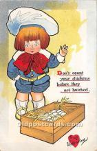 val002185 - Valentines Day Post Cards Old Vintage Antique Postcards