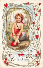 val002187 - Valentines Day Post Cards Old Vintage Antique Postcards