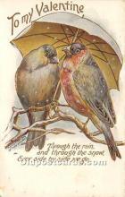 val002193 - Valentines Day Post Cards Old Vintage Antique Postcards