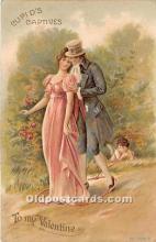 val002194 - Valentines Day Post Cards Old Vintage Antique Postcards