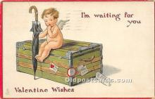 val002195 - Valentines Day Post Cards Old Vintage Antique Postcards