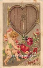 val002198 - Valentines Day Post Cards Old Vintage Antique Postcards
