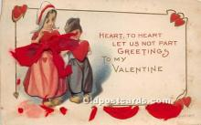 val002200 - Valentines Day Post Cards Old Vintage Antique Postcards