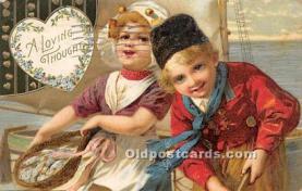 val002204 - Valentines Day Post Cards Old Vintage Antique Postcards