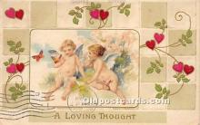 val002205 - Valentines Day Post Cards Old Vintage Antique Postcards