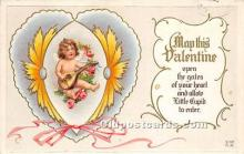 val002210 - Valentines Day Post Cards Old Vintage Antique Postcards