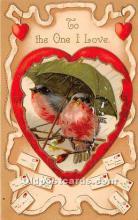 val002214 - Valentines Day Post Cards Old Vintage Antique Postcards
