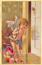 val002215 - Valentines Day Post Cards Old Vintage Antique Postcards