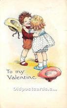 val002217 - Valentines Day Post Cards Old Vintage Antique Postcards