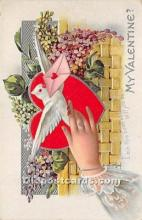 val002218 - Valentines Day Post Cards Old Vintage Antique Postcards