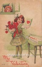 val002219 - Valentines Day Post Cards Old Vintage Antique Postcards