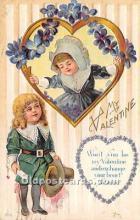 val002220 - Valentines Day Post Cards Old Vintage Antique Postcards