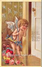 val002221 - Valentines Day Post Cards Old Vintage Antique Postcards