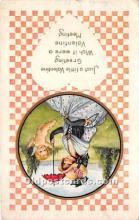 val002226 - Valentines Day Post Cards Old Vintage Antique Postcards